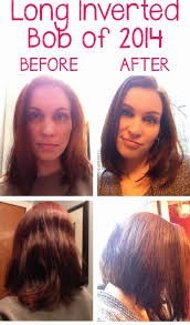 hairstyles when growing out inverted bob my new haircut a long bob it keeps getting better