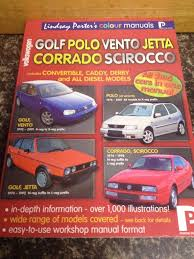 vw golf polo vento jetta corrado scirocco reference book by