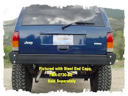 jeep xj bumper xj 97 01 rear bumper no receiver tomken