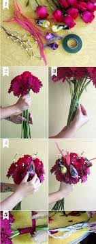how to make wedding bouquet diy how i made my own wedding bouquet a beautiful mess