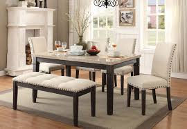 Dining Room End Chairs Elements Greystone Bench