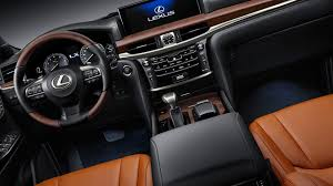 lexus lx interior 2017 2019 lexus lx 570 review us autos review