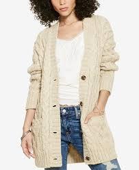 macy s ralph sweaters denim supply ralph cable knit boyfriend sweater
