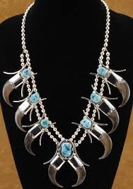 turquoise necklace silver chain images 343 best a native american squash blossom images jpg