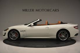 2017 maserati granturismo 2017 maserati granturismo convertible sport stock m1640 for sale
