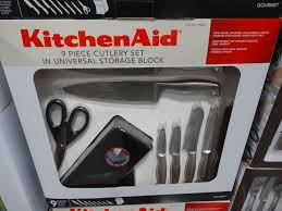 kitchenaid 9 piece cutlery set