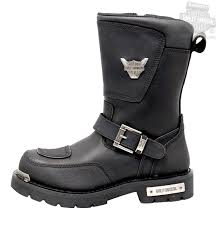 motorcycle riding shoes mens 95115 harley davidson mens shift black mid cut riding boot