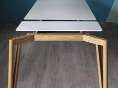 dr dt1 concrete top dining pi02 treteaux de table 88 table salle à manger modern