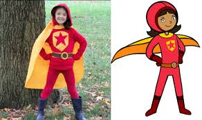 sports halloween costumes for girls no sew wordgirl costume crafts for kids pbs parents