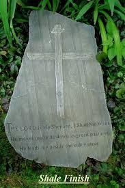 amazon com religious cast stone psalms christian garden plaque