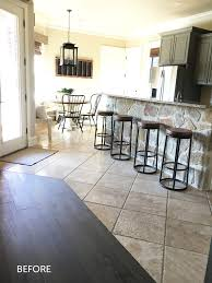 Quick Step Laminate Flooring For Kitchens Hgtv U0027s Shanty2chic Gets Wow Factor With New Kitchen Flooring