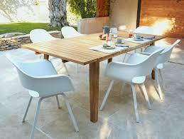 table bois cuisine table en bois jardin luxe beautiful diy salon de jardin palette s