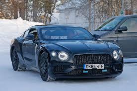 bentley exp 10 black next generation bentley continental gt spied winter testing
