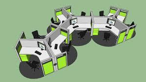 Modular Office Furniture Modular Office Furniture 3d Warehouse