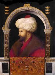 Mehmet Ottoman Portrait Of Mehmed Ii By Venetian Artist Gentile Bellini 1480
