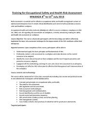oosha hs risk assesment training advertisement occupational