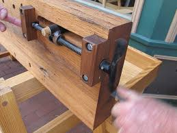 Wooden Bench Vise Plans by Will Myers U0027 Moravian Workbench Lost Art Press