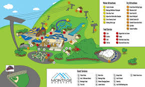 Pennsylvania Attractions Map by Ziprider At Montage Mountain Resort