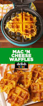 best mac and cheese waffle recipe how to make mac and cheese waffles