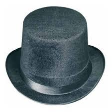 bulk hats supplies velfelt black top hat 12case