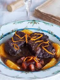cuisine provencale recette daube de bœuf provençale à l orange une recette emblématique de la