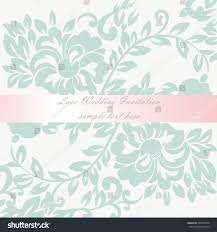 vector wedding invitation card lace lily stock vector 403870846