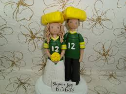 custom church fans custom groom green bay packers fans wedding by mudcards