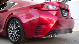 lexus rc 200t usa tanabe medalion touring exhaust for 2015 lexus rc 350 rwd part