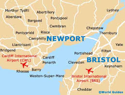 where is wales on the map newport maps and orientation newport gwent wales