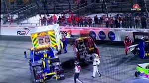 Huge Red Flag Huge Wreck U0026 Red Flag Lap 363 Federated Auto Parts 400 At