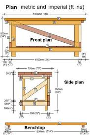Woodworking Plans For Free Workbench by Classic Diy Workbench Plans Diy Workbench Workbench Plans And