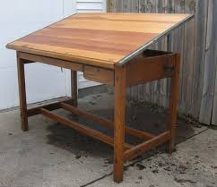 Drafting Table Wood Wood Drafting Tables Alvin Vanguard 28x42 Wooden Drafting Table