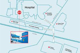 utsw cus map children s center dallas emergency room er