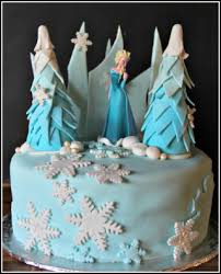 frozen themed birthday cakes u2013 bespoke custom cakes cupcakes