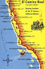 The Map Of Spain by California Missions U2014 The House Of Spain