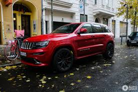 stanced jeep srt8 jeep grand cherokee srt 8 2013 11 november 2017 autogespot