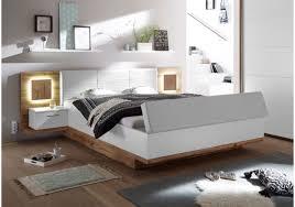 Schlafzimmer Und Arbeitszimmer Kombinieren Schlafzimmer Wildeiche Weiss Mit Bettanlage Und Beleuchtung Woody