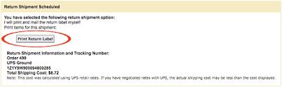 printable job application for ups print ups return shipment labels