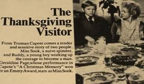 the thanksgiving visitor dvd tv truman capote geraldine page 1967