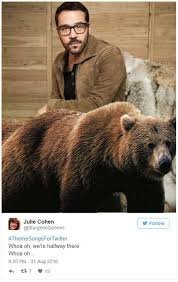 Halfway There Meme - jeremy piven and a bear whoa we re halfway there know your meme