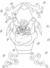 rocket ship ride christmas coloring pages adults