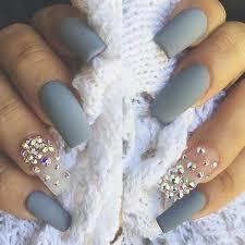 best 25 grey acrylic nails ideas on pinterest gray nails white