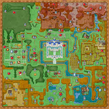 Wind Waker Map Collectibles Map Zeldaspeedruns