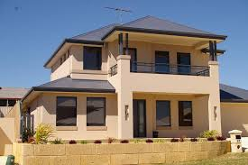 Two Story House Plans With Balconies Exterior Colour Exteriors Double Storey House Designs