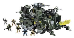 halo warthog mega bloks halo mega bloks unsc elephant troop carrier carter jun 973812 jpg