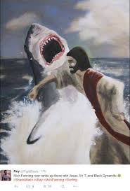 Shark Meme - surfer mick fanning punched a shark internet is flooded with memes
