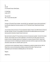 finance internship cover letter beautiful how to write a good