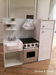 diy play kitchen ideas diy play kitchen harlow thistle home design lifestyle diy