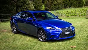 lexus sports car blue image lexus 2015 16 is 200t f sport blue auto metallic