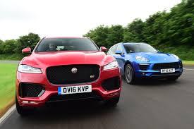 jaguar f pace vs porsche macan auto express